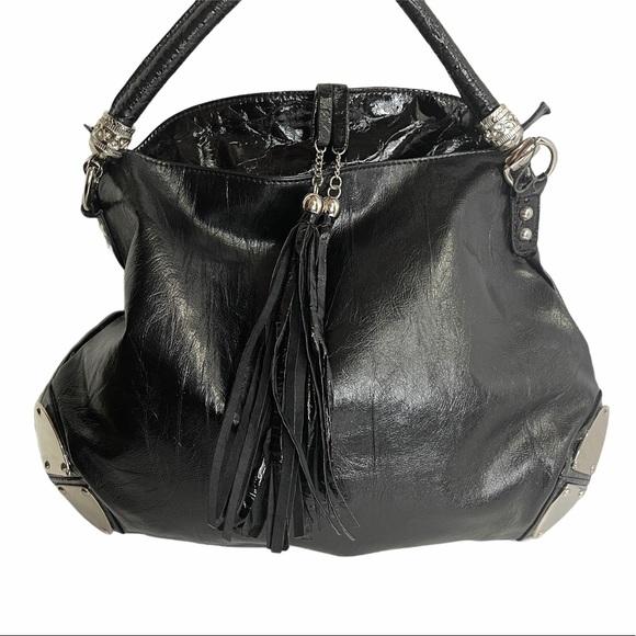 Bobby Schandra Handbags - Bobby Schandra Leather Hobo Handbag